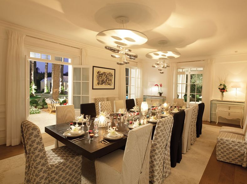 D coration d 39 int rieur salle manger for Decoration interieur salle a manger
