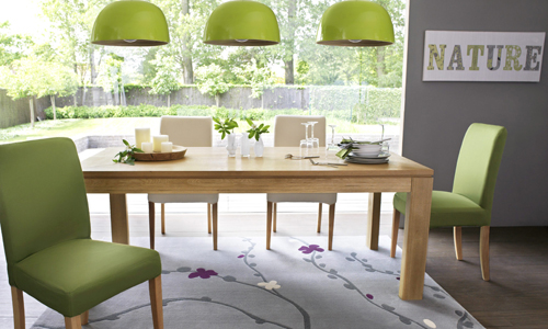 d coration salle manger nature. Black Bedroom Furniture Sets. Home Design Ideas