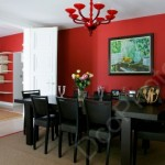décoration salle à manger peinture