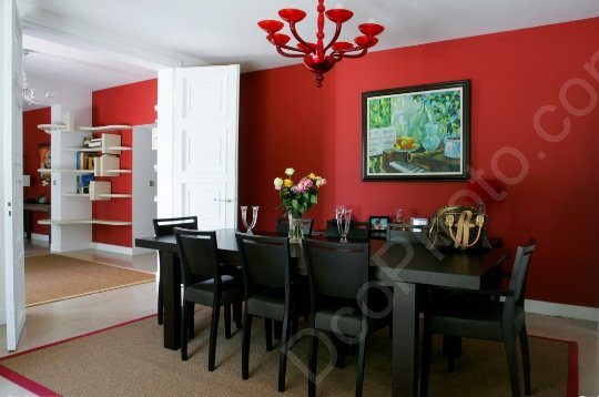 D coration salle manger peinture for Exemple deco salle a manger