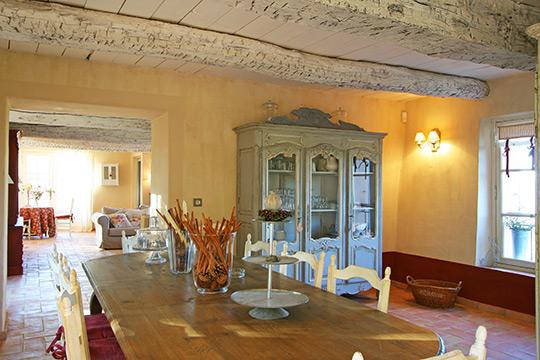 D coration salle manger proven ale - Decoration interieur mas provencal ...