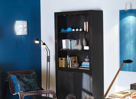 d coration bureau bleu. Black Bedroom Furniture Sets. Home Design Ideas