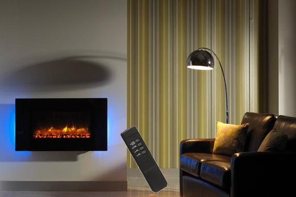 Radiateur electrique cheminee - Radiateur effet cheminee ...