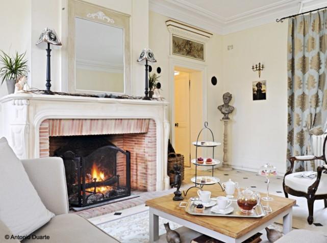 d co chemin e en brique. Black Bedroom Furniture Sets. Home Design Ideas