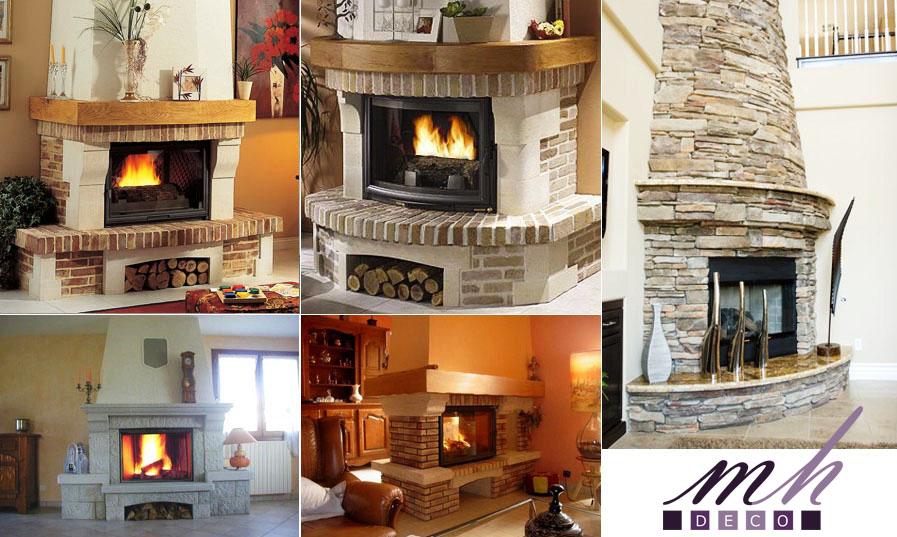 comment habiller une vieille chemine flambant neuf ma chemine photos valou jz salle de sjour. Black Bedroom Furniture Sets. Home Design Ideas