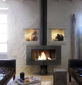 D co poele chemin e - Decoration poele a bois ...