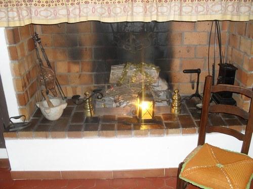 D co vieille chemin e - Decoration de noel cheminee ...