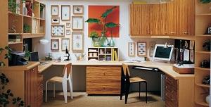 d coration bureau la maison. Black Bedroom Furniture Sets. Home Design Ideas