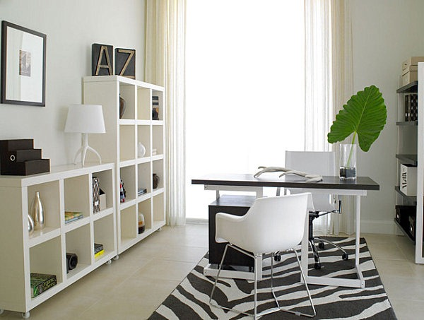 Exemple décoration bureau a domicile