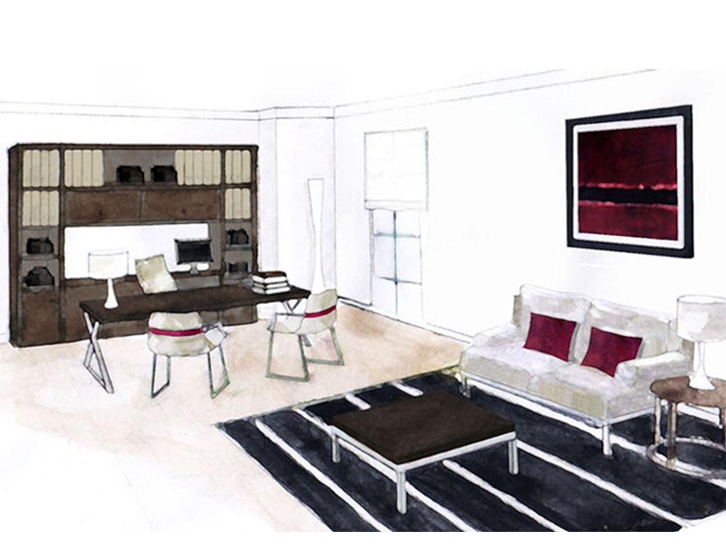 d coration bureau avocat. Black Bedroom Furniture Sets. Home Design Ideas