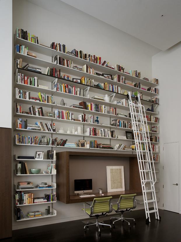 D coration bureau bibliotheque - Bibliotheque decoratie de maison ...