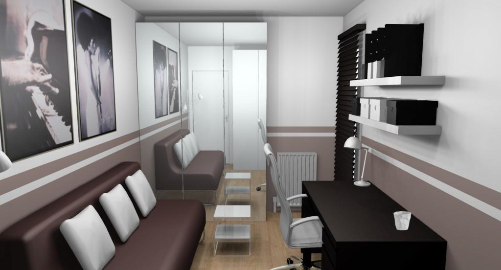 décoration bureau chambre damis - Photo Déco