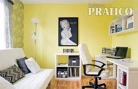 d coration bureau chambre damis. Black Bedroom Furniture Sets. Home Design Ideas