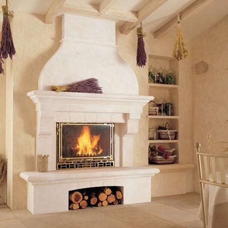 d coration chemin e foyer ferme. Black Bedroom Furniture Sets. Home Design Ideas