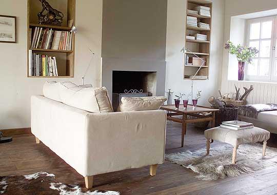 d coration interieur salon chemin e. Black Bedroom Furniture Sets. Home Design Ideas