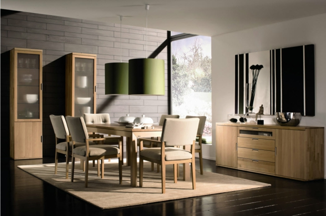 photo decoration deco salle a manger industrielle. Black Bedroom Furniture Sets. Home Design Ideas