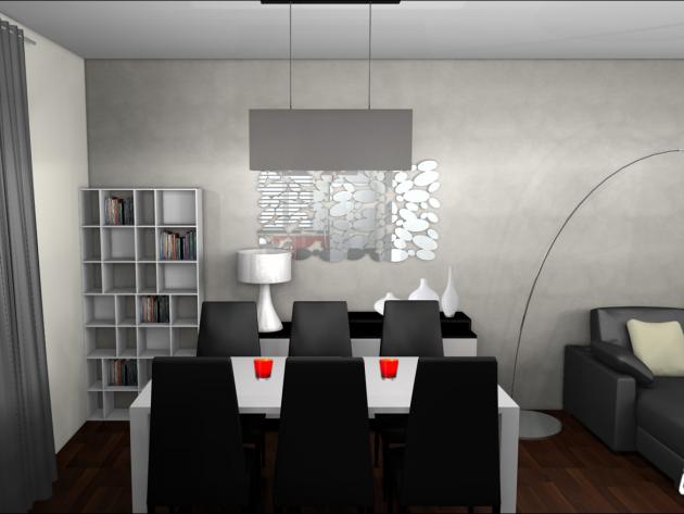 déco salle à manger moderne - Photo Déco