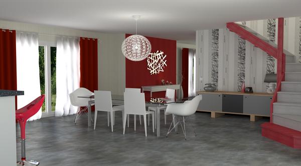 D coration salle manger tapisserie - Tapisserie sejour salon ...
