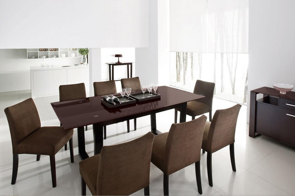 d coration table salle a manger. Black Bedroom Furniture Sets. Home Design Ideas