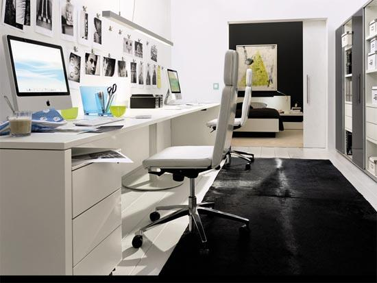 exemple idée décoration bureau à la maison