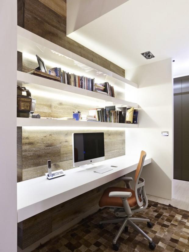 idée décoration bureau à la maison