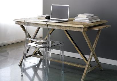 déco bureau en bois