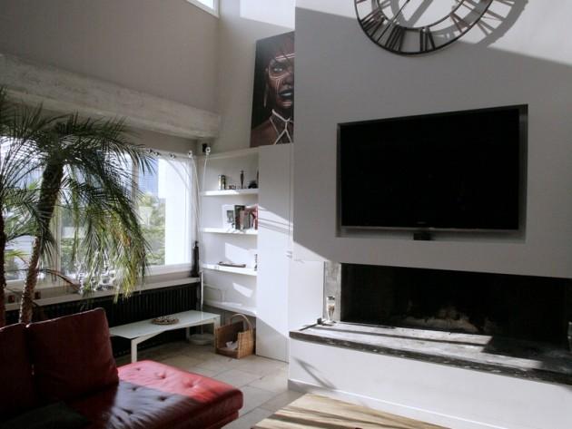 d co chemin e et tele. Black Bedroom Furniture Sets. Home Design Ideas