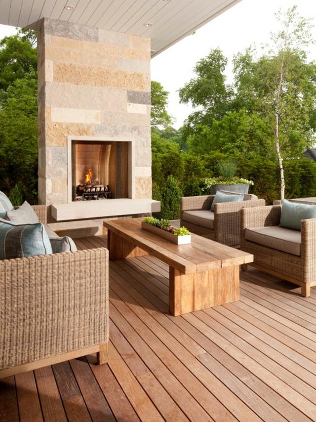 D co chemin e exterieur - Decoration terrasse exterieure moderne ...