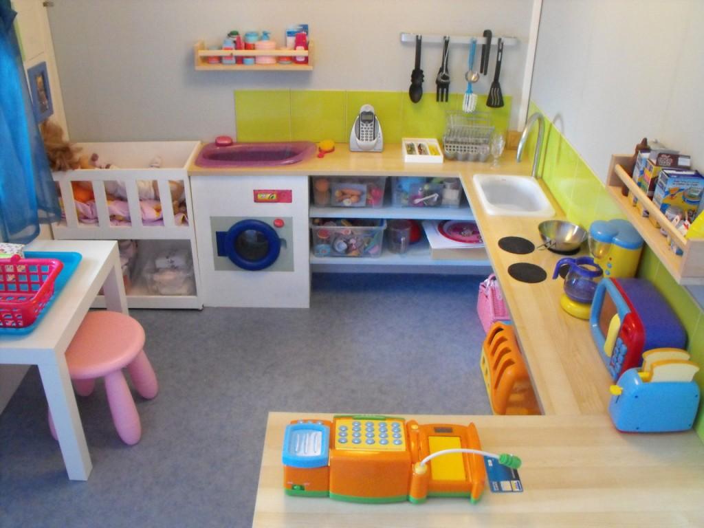 D co salle de jeux ikea for Meuble jouet ikea