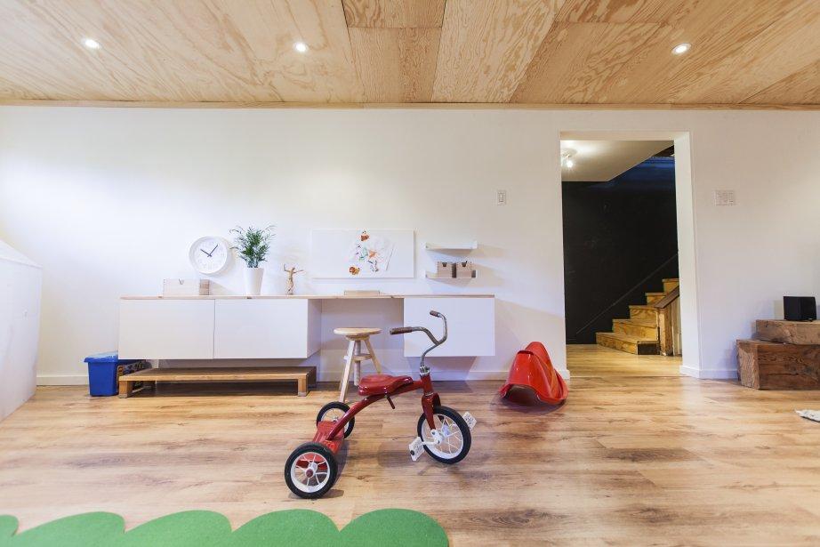 photo decoration d co salle de jeux ikea. Black Bedroom Furniture Sets. Home Design Ideas