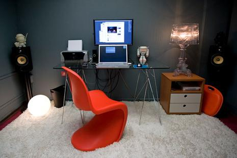 belle décoration bureau geek. «