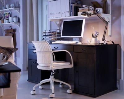 Jolie décoration bureau ikea