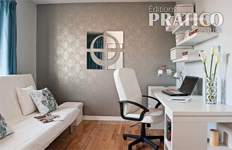 Jolie décoration bureau maison - Photo Déco