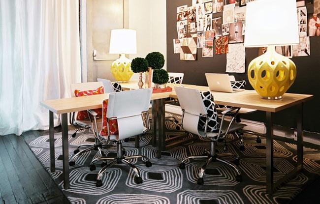 Aménagement décoration bureau travail maison