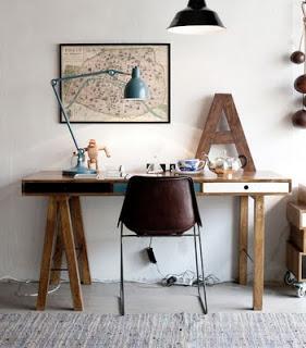 Deco Chambre Bureau. Dcoration Deco Chambre Vintage Le Bureau D ...