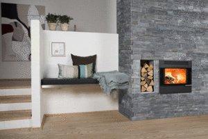 d coration chemin e avec insert. Black Bedroom Furniture Sets. Home Design Ideas