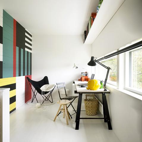 d coration dun bureau peinture. Black Bedroom Furniture Sets. Home Design Ideas