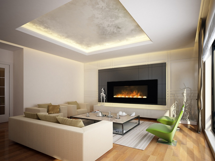 Cheminee Decorative Electrique Design