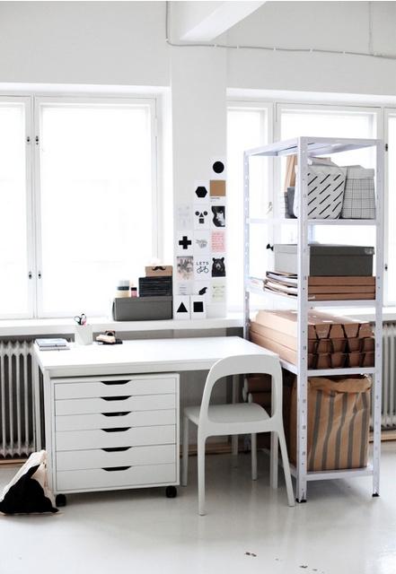 d coration rangement bureau. Black Bedroom Furniture Sets. Home Design Ideas