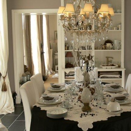 d co salle manger de charme. Black Bedroom Furniture Sets. Home Design Ideas