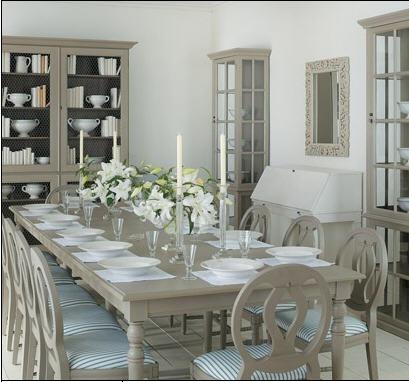 Mod le d co salle manger de charme for Modele de decoration de salle a manger