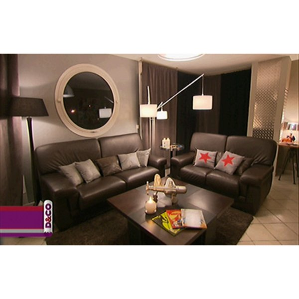 d co salon salle manger marron. Black Bedroom Furniture Sets. Home Design Ideas