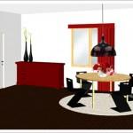décoration feng shui salle à manger