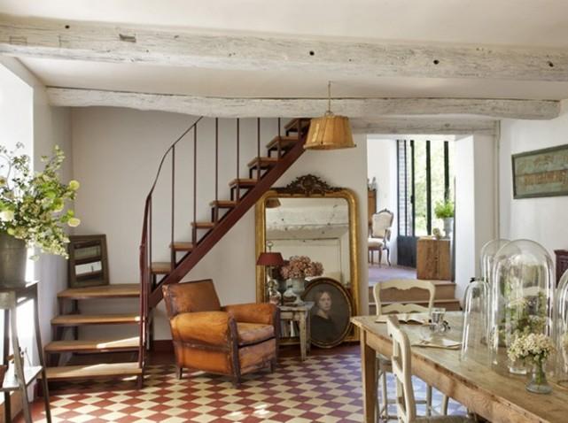 aménagement décoration salle à manger ancienne - Photo Déco
