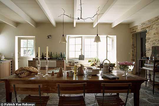 D coration salle manger campagnarde - Deco de table campagnarde ...
