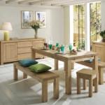 décoration salle à manger en bois
