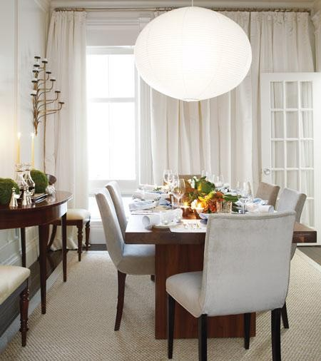 Photo d coration salle manger noel - Decoration salle a manger ...