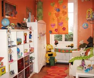 décoration salle de jeux bébé