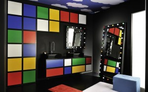 d coration salle de jeux video. Black Bedroom Furniture Sets. Home Design Ideas