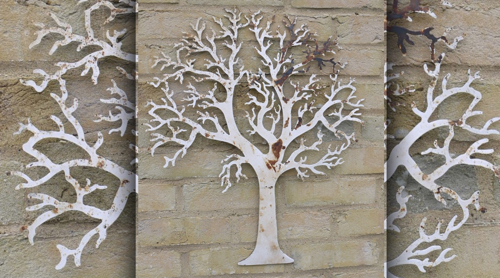 Decoration murale fer forge exterieur for Decoration murale arbre de vie
